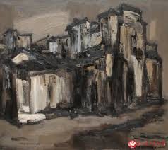 1 3 china famous artists oil paintings exhibition