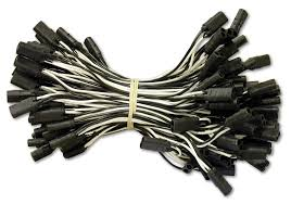 lighting wires harnesses hardware shipping badge double terminal pigtail wire harness 10 spacing 110 plugs