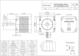 nema 23 stepper motor openbuilds part store stepper motor wiring color code at Nema 23 Stepper Motor Wiring Diagram