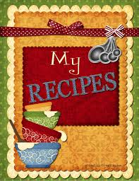 recipes cover page template. Plain Cover Here  For Recipes Cover Page Template A