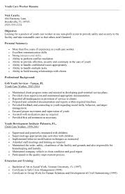 collection of solutions sample youth resume for resume sample - Sample Youth  Care Worker Resume