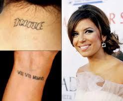 татуировки звезд женский онлайн журнал наша леди