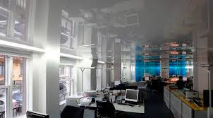 office ceilings. Canvas Stretch Ceiling / Acoustic Office Ceilings