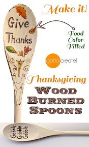 make wood burned spoons and add color with this tip makes a great thank