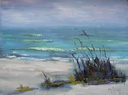 seascape oil painting beach landscapepainting ooak painting the beach at sanibel 6x8 painting daily painting