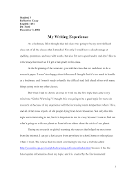 reflective essay english class academic essay english classes
