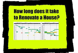whole house renovation checklist how long does it take to do a house renovation home renovation