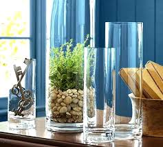 extra tall floor vases glass vase large clear pottery barn uk