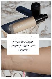 Becca Backlight Vs First Light Tgimf Becca Backlight Priming Filter Face Primer