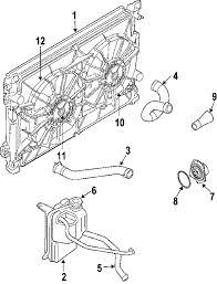 parts com® chrysler pacifica radiator oem parts 2005 chrysler pacifica base v6 3 5 liter gas radiator