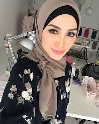 insram explore hijabs brown and more smokey eye makeup by for mingguan msia wearing my