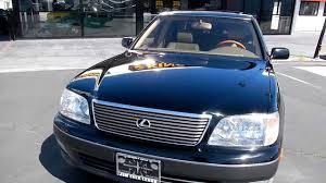 1999 Lexus LS400 UCF20 2 Two Owner 69,000 Orig mi LS 400 Toyota ...