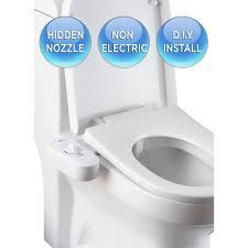 non electric bidet. Perfect Bidet BioBidet NonElectric Attachable Bidet System For 2Piece Toilets In White For Non Electric