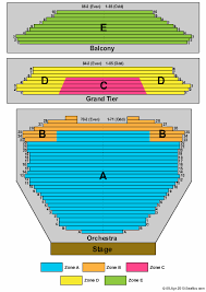 Gammage Seating Chart Gammage Auditorium Seating Chart