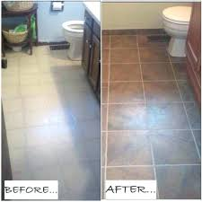 painting bathroom floor tiles before and after over tile you paint grout can full image for