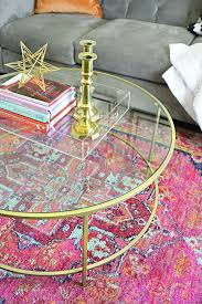 a review of the oriental weavers kaleidoscope rug in a small living dining room space