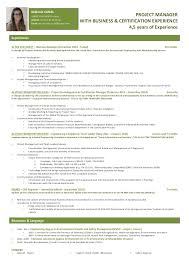 Project Manager Resume Enchanting Melanie Canal Project Manager RESUME
