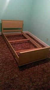 twin bed wooden frame wooden bed rails wooden bed frame side rails twin bed wood headboard
