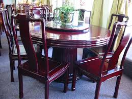 rosewood round table set available in diffe sizes cushions your choice