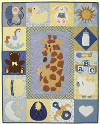 Baby Quilt Designs Baby Sampler Quilt Pattern