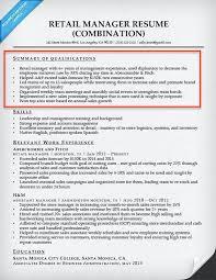 Resume Sample Summary Statement