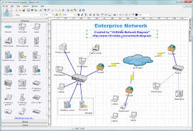 Online Network Diagram Design Tool 10 Strike Network Diagram Software For Creating Topology