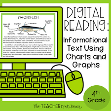 Informational Text With Graphs And Charts 4th Grade Digital Reading Informational Text Using Charts Google Slides
