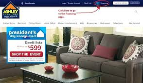 Ashley Furniture Credit Card line Application Payment Center