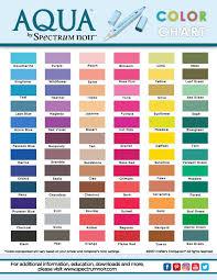 Color Spectrum Chart Free Printable Spectrum Noir Color Charts Noir Color