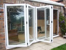unbelievable folding glass patio door top patio glass doors and four pane aluminium folding bi fold door