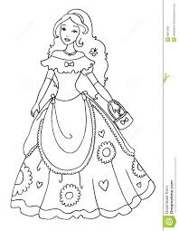 Small Picture Princess Coloring Page Coloring Page