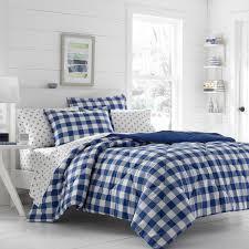 duvet covers 33 winsome design blue gingham comforter poppy fritz navy set free today amp
