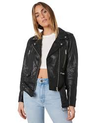 neuw womens sthim leather jacket