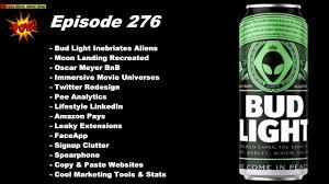 Bud Light Alien Bud Light Inebriates Aliens