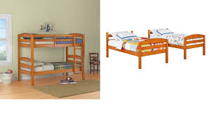 better homes and gardens leighton twin over twin wood bunk bed is on for 149 reg 199 00 at com