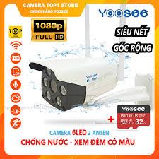 Camera IP YooSee Ngoài Trời FHD 1080 Tiếng Việt + Thẻ Nhớ 32Gb Yoosee giá  cạnh tranh