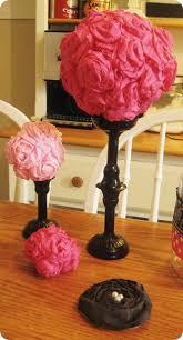 Crepe Paper Flower Balls Easie Peasie Co Crepe Paper Flower Ball Tutorial Tips