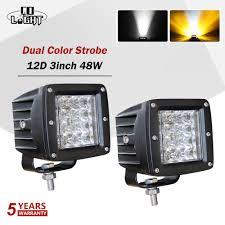 Strobe Light In Store Us 25 44 39 Off Co Light Led Work Lamp 12d 3