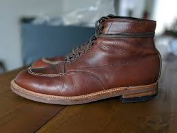alden indy 403 brown horween chromexcel leather boot size 10d