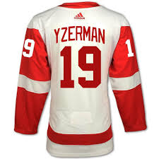Yzerman Hand-sewn Red 19 Detroit Authentic On-ice Wings Jersey Road By 'c' Adidas dbdedbfbcfb|Who Has Taken Over Mason Crosby's Body?