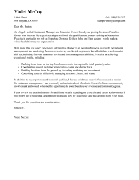 Cover Letter Examples Restaurant Manager Tomyumtumweb Com