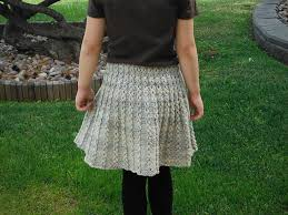 Knit Skirt Pattern Delectable Transition From Summer To Fall With Skirt Knitting Patterns