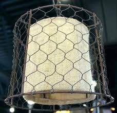 wire pendant light shade burlap pendant light en wire lamp primitive en wire burlap drum swag lamp lamp shade pro en wire pendant light
