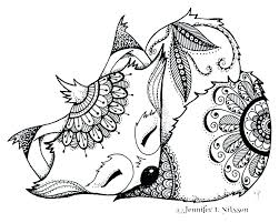 Coloring Pages Disney Free Printable Unicorn Online Games Red Fox