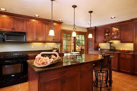 For Kitchen Remodeling Stunning Kitchen Remodeling Ideas With Black Cabinet And Granite