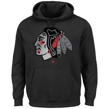 Majestic Blackhawks Game Men's Pullover Shop Black - Hoodie Reflex Chicago
