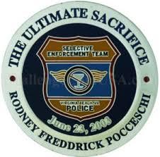 ChallengeCoinUSA Virginia Beach Police Officer Rodney Pocceschi Memorial  Challenge Coin