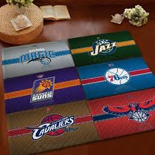 gosport absorbent soft c velvet non slip bathroom floor mat rug nba miami heat