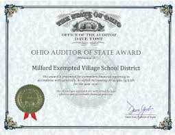 district receives perfect audit the clean audit report means the financial audit did not contain findings for recovery material citations material weaknesses significant deficiencies