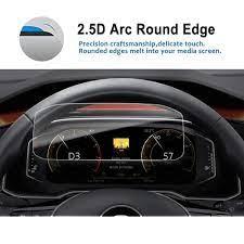RUIYA Screen Protector For T Roc 10.3 Inch 2017 2018 Car LCD Dashboard  Display Screen Auto Interior Protect Accessories|Screen Protectors